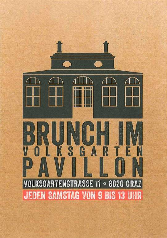 Brunch im Pavillon